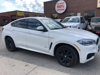 Used 2015 BMW X6 XDrive35i Black Alloys for sale in North York, ON