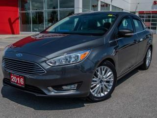 Used 2016 Ford Focus Titanium 4dr FWD Sedan for sale in Brantford, ON