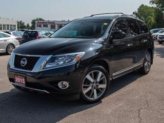 Used 2015 Nissan Pathfinder Platinum 4dr 4WD Sport Utility for sale in Brantford, ON