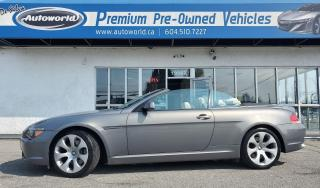 Used 2004 BMW 6 Series *645Ci, Convertible, Tuned* for sale in Langley, BC