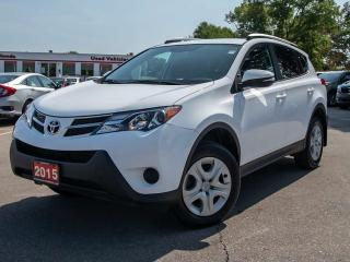 Used 2015 Toyota RAV4 LE 4dr FWD Sport Utility for sale in Brantford, ON