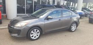 Used 2013 Mazda MAZDA3 GX; GREAT CONDITION, AIR CONDITIONING AND MORE for sale in Edmonton, AB