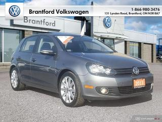 Used 2013 Volkswagen Golf 5-Dr TDI Highline at Tip for sale in Brantford, ON