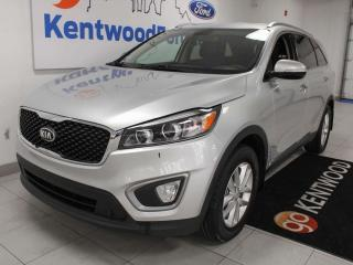 Used 2016 Kia Sorento LX AWD with heated seats, this SUV is sleek and compact for sale in Edmonton, AB