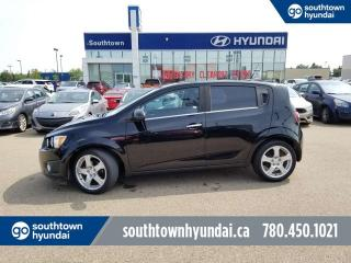 Used 2012 Chevrolet Sonic LTZ/BLUETOOTH/SUNROOF/LEATHER for sale in Edmonton, AB