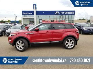 Used 2015 Land Rover Evoque PURE PLUS/BACK UP CAMERA/PANO SUNROOF/LEATHER for sale in Edmonton, AB