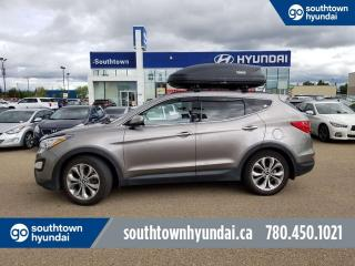 Used 2016 Hyundai Santa Fe Sport LTD ADVENTURE/AWD/BLIND SPOT/BACK UP CAM for sale in Edmonton, AB