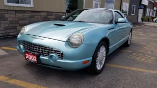 Used 2002 Ford Thunderbird WITH MATCHING HARD TOP-VERY CLEAN-LEATHER for sale in Tilbury, ON