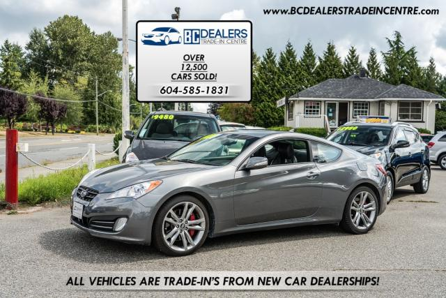 2010 Hyundai Genesis Coupe 3.8 GT Paddle Shift, Brembo's, 18' Wheels, Low K