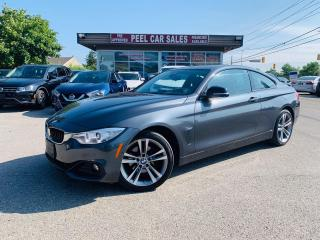Used 2015 BMW 4 Series 428i xDrive|VIDEO.CALL.US| RED INTERIOR|BACKUP CAMERA|HEATED MIRRORS|HEATED STEERING|RED LEATHER|NAVI|SUNROOF|COUPE for sale in Mississauga, ON