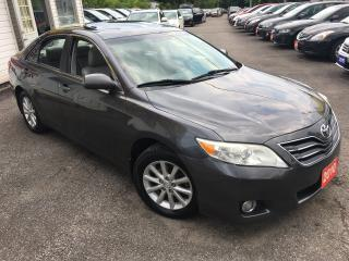 Used 2010 Toyota Camry XLE/ AUTO/ LEATHER/ SUNROOF/ ALLOYS/ FULLY LOADED! for sale in Scarborough, ON