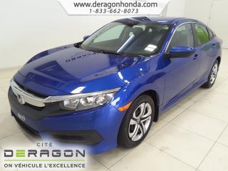 Used 2017 Honda Civic LX+REGULATEUR DE VITESSE+VITRES TEINTEES LX+REGULATEUR DE VITESSE+VITRES TEINTEES for sale in Cowansville, QC
