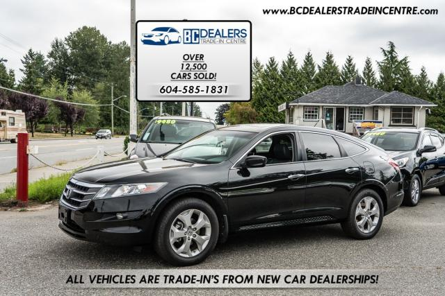 2010 Honda Accord Crosstour EX-L 4WD, Sunroof, Leather, Bluetooth, Loaded!