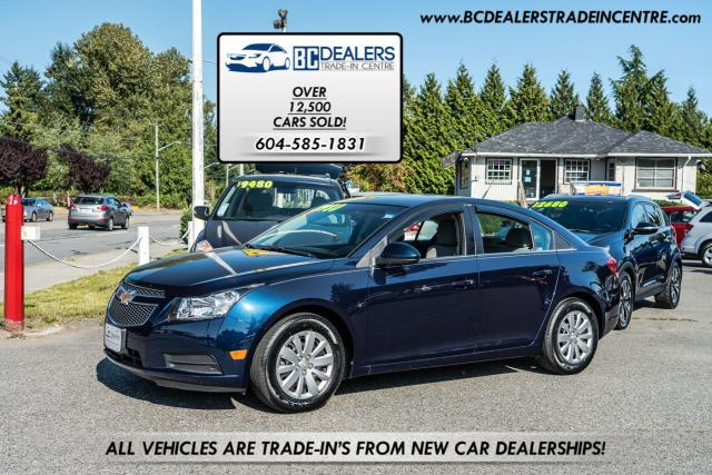2011 Chevrolet Cruze LT Turbo, Only 82k, Local, No Accidents, Like New!