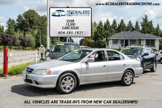 Used 2000 Acura TL 3.2, Leather, Sunroof, Alloy Wheels, Loaded! for sale in Surrey, BC