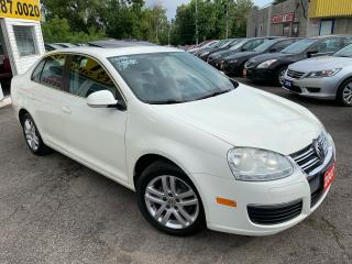 Used 2007 Volkswagen Jetta AUTO/ SUNROOF/ POWER GROUP/ ALLOYS/ LOADED! for sale in Scarborough, ON