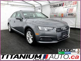 Used 2017 Audi A4 Quattro+Park Sensors+Heated Steering+Apple Play+XM for sale in London, ON