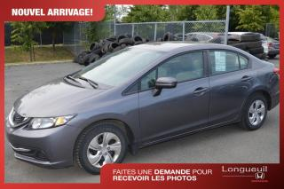 Used 2015 Honda Civic for sale in Longueuil, QC