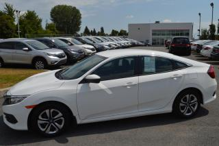 Used 2017 Honda Civic LX ***Garantie prolongé incluse *** for sale in Longueuil, QC