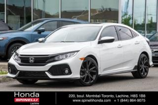 Used 2017 Honda Civic Sport MANUELLE 1.5L TURBO MANUELLE A HAYON, TOIT MAGS BLUETOOTH for sale in Lachine, QC