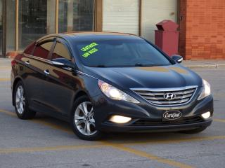 Used 2011 Hyundai Sonata LIMITED,LEATHER,AUTOSTART,FULL OPTION,NO-ACCIDENTS for sale in Mississauga, ON