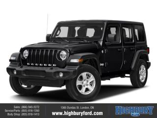 New 2018 Jeep Wrangler Unlimited Sahara for sale in London, ON