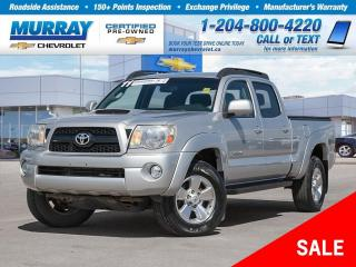 Used 2011 Toyota Tacoma V6 *Rear View Camera, ABS Breaks* for sale in Winnipeg, MB
