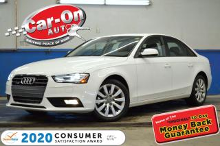 Used 2014 Audi A4 AWD LEATHER SUNROOF HTD SEATS 77, 000 KM LOADED for sale in Ottawa, ON