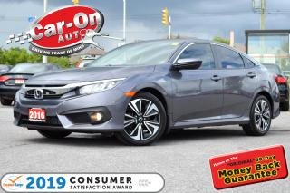 Used 2016 Honda Civic EX-T REAR CAM ADAPTIVE CRUISE ROOF HTD NAV READY for sale in Ottawa, ON