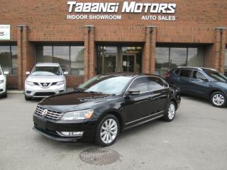 Used 2013 Volkswagen Passat TDI | HIGHLINE | NO ACCIDENTS | NAVIGATION | REARCAM | BT for sale in Mississauga, ON