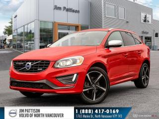 Used 2015 Volvo XC60 T6 R-Design Platinum (2015.5) for sale in North Vancouver, BC
