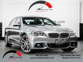 Used 2016 BMW 5 Series 535i xDrive|M-Sport|Navigation|Driver Assist|HUD|360Camera for sale in Vaughan, ON