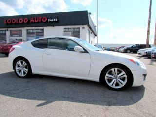Used 2010 Hyundai Genesis Coupe 3.8L Automatic Premium Automatic Bluetooth Certified 2Y 2010 Hyundai Genesis Coupe 3.8L Automatic Premium Automatic Bluetooth Certified 2Y for sale in Milton, ON