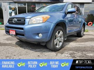Used 2008 Toyota RAV4 Sport V6 ** 4WD, Clean CarFax, Low Km** for sale in Bowmanville, ON