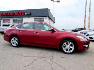 Used 2015 Nissan Altima 2.5 SL TECH Pkg NAVIGATION CAMERA CERTIFIED WARRANTY 2015 Nissan Altima 2.5 SL TECH Pkg NAVIGATION CAMERA CERTIFIED WARRANTY for sale in Milton, ON