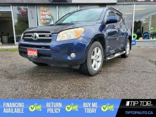 Used 2006 Toyota RAV4 Limited V6 ** One Owner, Clean CarFax, Leather ** for sale in Bowmanville, ON