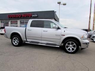 Used 2015 RAM 1500 Ram 1500 Laramie Crew Cab 4WD Navi Camera Certified 2YR Warranty 2015 RAM 1500 Ram 1500 Laramie Crew Cab 4WD Navi Camera Certified 2YR Warranty for sale in Milton, ON