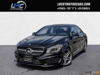 Used 2015 Mercedes-Benz CLA-Class CLA250 4MATIC AMG SPORT PKG-XENON-NAV-BLINDSPOT-PUSHBUTTON for sale in North York, ON