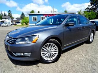 Used 2014 Volkswagen Passat Comfrtline TDI DSG Leather Sunroof Bluetooth Certified 2014 Volkswagen Passat Comfrtline TDI DSG Leather Sunroof Bluetooth Certified for sale in Guelph, ON