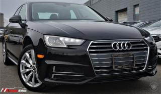 Used 2018 Audi A4 2.0 TFSI Quattro S tronic w/SUNROOF /HEATED SEATS / BACK CAM for sale in Brampton, ON