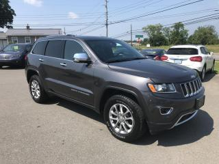 Used 2016 Jeep Grand Cherokee Limited 4x4, LEATHER, LOADED, Excellent condition!! for sale in Truro, NS