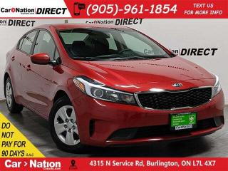 Used 2018 Kia Forte LX| BLUETOOTH| WE WANT YOUR TRADE| for sale in Burlington, ON