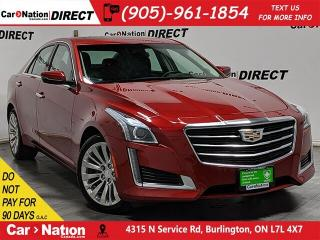 Used 2015 Cadillac CTS 2.0L Turbo Luxury| AWD| PANO ROOF| NAVI| for sale in Burlington, ON