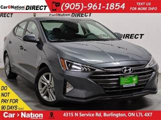 Used 2019 Hyundai Elantra Preferred| APPLE CARPLAY & ANDROID| for sale in Burlington, ON