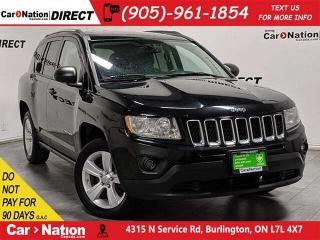 Used 2012 Jeep Compass North| AS-TRADED| SUNROOF| TOUCH SCREEN| for sale in Burlington, ON