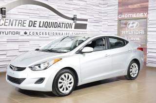 Used 2013 Hyundai Elantra GL+GR ELECTRIQUE+AIR CLIM for sale in Laval, QC