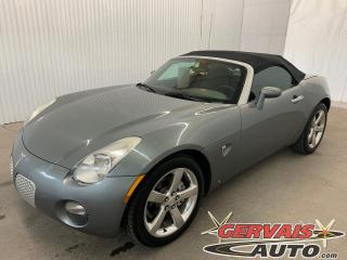 Used 2007 Pontiac Solstice Convertible Cuir MAGS for sale in Trois-Rivières, QC
