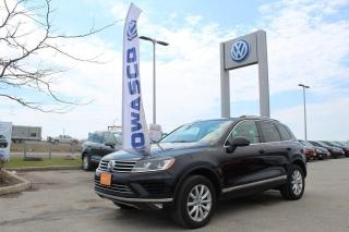 Used 2017 Volkswagen Touareg 3.6L Sportline | 0.9% for 36 Months!! for sale in Whitby, ON