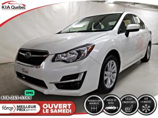 Used 2016 Subaru Impreza **TOURING** AWD * A/C * CAMERA * SIEGE CHAUFFANT * for sale in Québec, QC