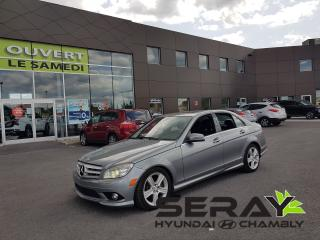 Used 2010 Mercedes-Benz C-Class C300 4MATIC, CUIR, MAGS, A/C, TOIT OUVRANT, 4X4 for sale in Chambly, QC